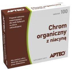APTEO Chrom organiczny z niacyną x 100 tabletek