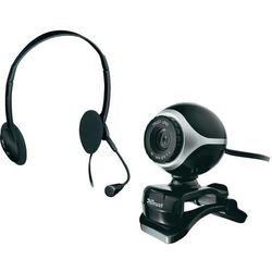 TRUST Zestaw do komunikacji Exis Chatpack (webkamera, Słuchawka z mikrofonem)