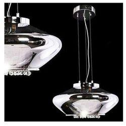 LAMPA wisząca RIVORRE LDP 8056 Lumina Deco halogenowa OPRAWA ZWIS z kryształkami crystal chrom