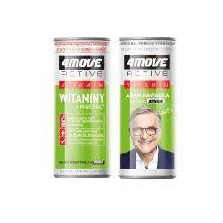 Napój izotoniczny 4Move Shot witaminy+minerały niegazowany 250 ml