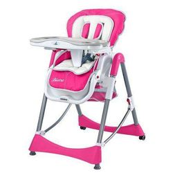 Krzesełko do karmienia Bistro purpurowe