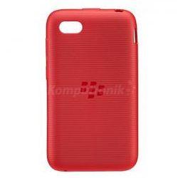 BlackBerry Soft Shell do Q5 czerwony
