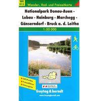 Dolna Austria Park Narodowy Donau-Auen mapa turystyczna 1:50 000 Freytag & Berndt (opr. miękka)