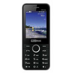 Telefon MAXCOM MM 136 + starter Fakt Mobile Czarny