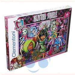 Monster High Puzzle 200 z brokatem Clementoni