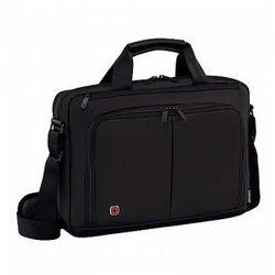 61c9ba13b34f0 Torba z kieszenią na laptopa do 14' marki Wenger model Source 14 - kolor  czarny