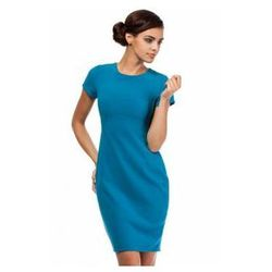 MOE186 Moe turkusowa sukienka