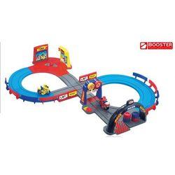 Booster. Motocyklowy tor wyścigowy, zabawka dla dzieci.