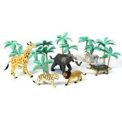Smiki, Zwierzęta z dżungli, zestaw 12 figurek Darmowa dostawa do sklepów SMYK