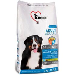 1st Choice Adult Dog Medium & Large Breeds - 15 kg