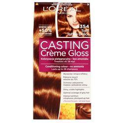 Casting Creme Gloss farba do włosów Toffee Delice 6354 Toffi