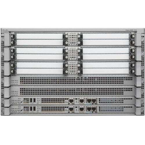 ASR1006-20G-SEC/K9 Hardware • Chassis: ASR1006 • ESP: 1XASR1000-ESP20; RP:1X ASR1000-RP1; SIP: 1XASR1000-SIP10 Software • Consolidated Package: SASR1R1-AESK9-XYS • Feature License: FLASR1-IPSEC-RTU, FLASR1-FW-RTU