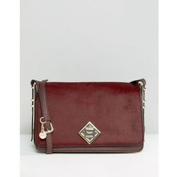 Dune Simple Cross Body Bag With Lock Detail - Red