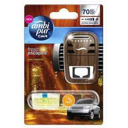 AMBI PUR 7ml Car Anti-Tobacco odświeżacz powietrza do samochodu + zapa