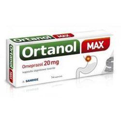 Ortanol Max 20 mg 14 kaps.