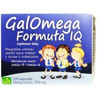 Galomega Formula IQ, kapsułki elastyczne, 150 szt.