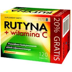 RUTYNA + WITAMINA C TABLETKI 120 TABL.