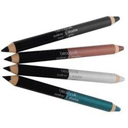 Beauty UK Jumbo Eye liner & Eye Shadow Pencil - Cień do oczu oraz eyeliner w kredce Black/Grey