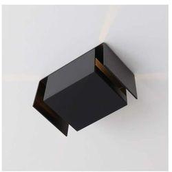 Kinkiet LAMPA ścienna IRUMA 405/H-PING9/CZ Shilo metalowa OPRAWA minimalistyczna IP20 czarny