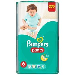 PAMPERS Pants 6 Extra Large 44szt Jumbo Pack Pieluchomajtki