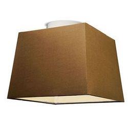 Plafon Ton 30 kwadratowy brązowy