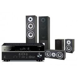 Kino domowe YAMAHA RX-V479 + Pure Acoustics NOVA Czarny