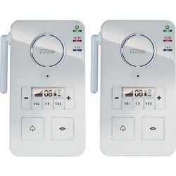 Domofon bezprzewodowy m-e modern-electronics FS 2.1, Kompletny zestaw, Kolor: Biały