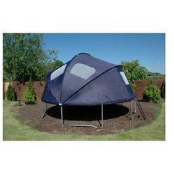 EURO 427 cm (14ft) - Trampolina ogrodowa z namiotem i drabinką