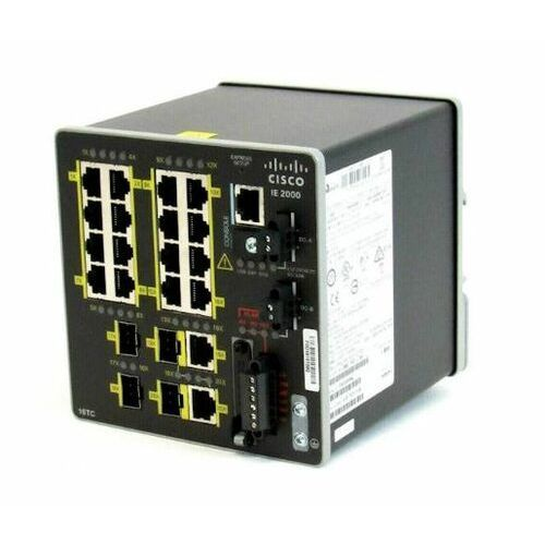 IE-2000-16TC-G-E Switch Cisco IE2000 16 FE Copper, 2GE SFP/T and 2 FE SFP, Lan Base