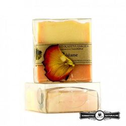 Mydło kastylijskie różane - Czyste mydło