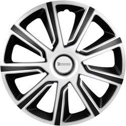 Kołpaki Michelin 92014, R15, 4 szt., Srebrny czarny