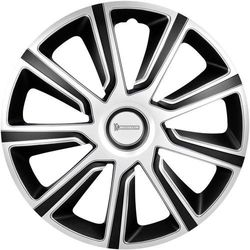 Kołpaki Michelin 92015, R16, 4 szt., Srebrny czarny