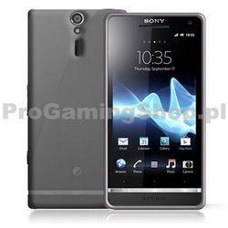 Etui silikonowe Celly Premium GelSkin do Sony Xperia SP - C5303, Przezroczyste