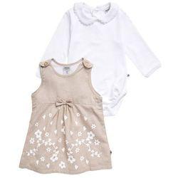 Jacky Baby Sukienka letnia beige/weiß