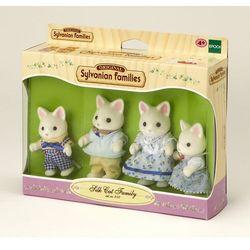 Sylvanian Families, rodzina jedwabistych kotków, zestaw figurek Darmowa dostawa do sklepów SMYK
