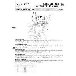 SHAD SHW0R16T Stelaż kufra centralnego BMW R 1100/1150 RT, 1150 RS, K 1,1 tysiąc LT