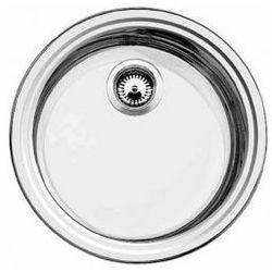 Zlewozmywak stalowy Blanco RONDOSOL C, wpuszczany w blat - stal matowa 513304