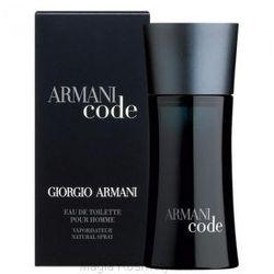 Giorgio Armani Black Code 50ml Woda toaletowa dla mężczyzn