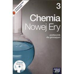 CHEMIA 3 GIMNAZJUM PODRĘCZNIK + PŁYTA CD. CHEMIA NOWEJ ERY 3 (opr. miękka)