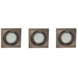 Oprawy sufitowe Cristaldream LED 3szt. Britop