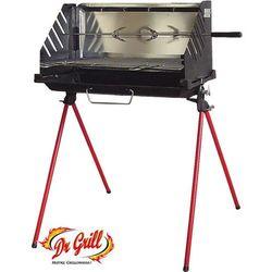 Grill z Żeliwnym Paleniskiem 55cm x 28cm Dr.Grill (ABQ5528)