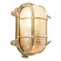 Kinkiet/ plafon Nautica 2 owalny złota