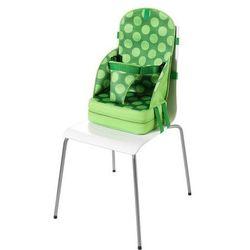 Quaranta Settimane, Przenośny fotelik dla dzieci z neoprenu, Zielony w kropki Darmowa dostawa do sklepów SMYK