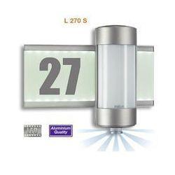 Lampa ścienna zewnętrzna z czujnikiem ruchu Steinel 647810, 2x40 W, G9, IP44, (DxSxW) 32.8 x 14.1 x 27 cm