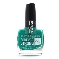 Maybelline Forever Strong Pro Nail Polish - Długotrwały lakier do paznokci 605 Hyper Jade, 10 ml