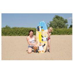 HAPPY PEOPLE Deska do pływania Surfboard Pingwin 145x45cm