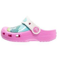 Crocs FROZEN FEVER Klapki party pink/oyster