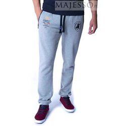 Szare spodnie dresowe męskie SMPC Ambrose