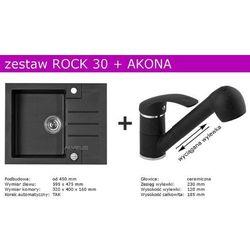 Zestaw ALVEUS ROCK 30 + AKONA (kolor CZARNY)