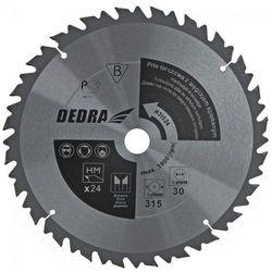 Tarcza do cięcia DEDRA HL50036 500 x 30 mm do drewna z ogranicznikiem posuwu + DARMOWY TRANSPORT!
